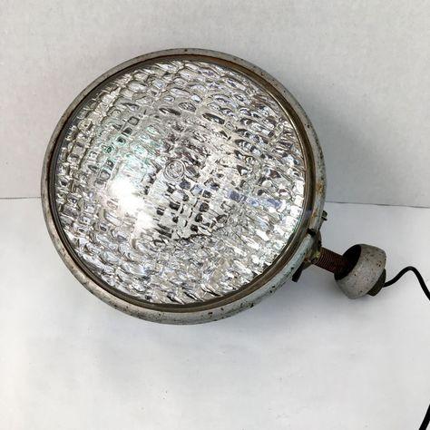 Dietz 510 GE Tilting Headlight 745 Cars Hot Rat Rod Working Condition Vintage #GEDietz