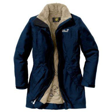 Jack Wolfskin Damen Mantel 5Th Avenue Coat: : Sport