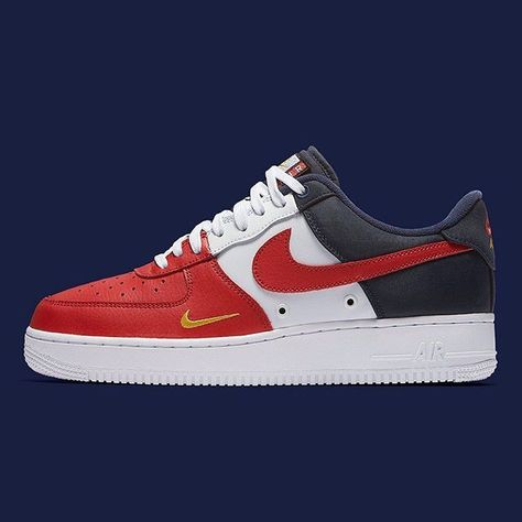 The Nike Air Force 1 Low is getting patriotic with red