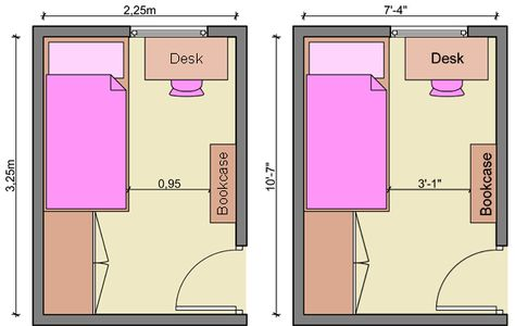 Chic Long Narrow Layout 600x380 | Ideas for the House | Pinterest |  Layouts, Bedrooms and Room