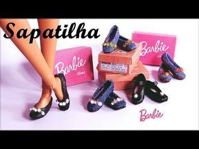 acessorios para barbie sapatos