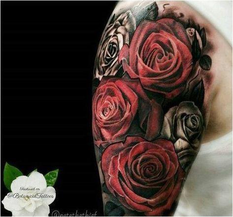 Hergestellt von Stella Luo Tätowierern in Toronto, Kanada - rose tattoos