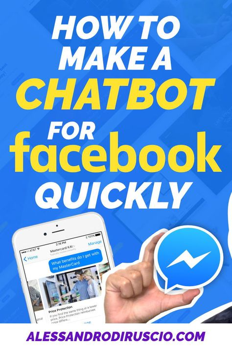 How to Make a Chatbot for Facebook Quickly - Manychat Tutorial 2019 - Do you want to create a Facebook Messenger Bot? You're in the right place. I'll teach you how to build a chatbot for Facebook in a few minutes with Manychat! #facebookmessenger #whatsapp #facebook #messenger #chat #chatbot #socialmediamarketing #facebook #chatbots #socialmedia #facebookchatbot #smsmarketing #whatsappmarketing #facebookmessenger #messengermarketing #sitechatbot