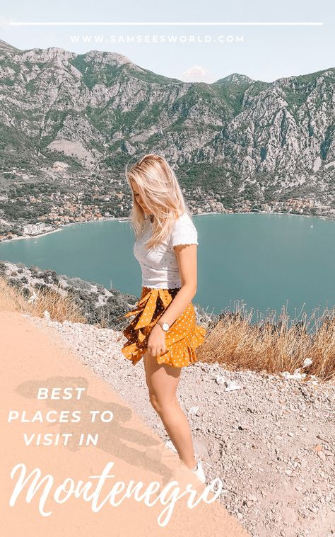 Best places to visit in Montenegro!
