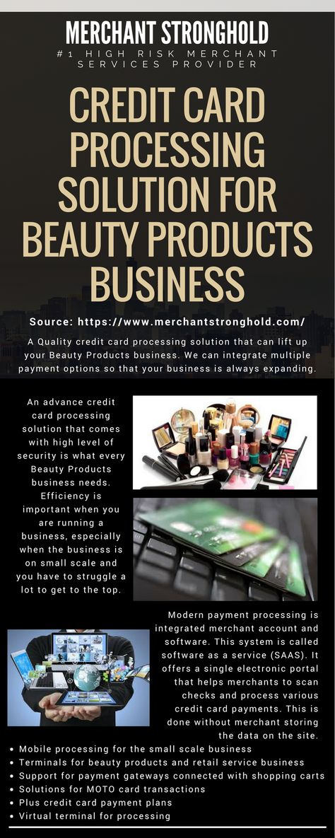 Credit Card Processing Solution For Beauty Products Business - business credit card agreement