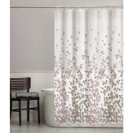 Home Fabric Shower Curtains Floral Shower Curtains Shower