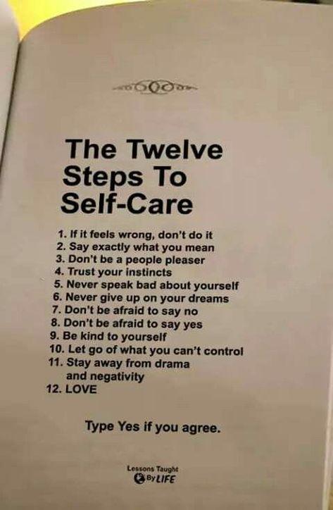 Self Care To Do List