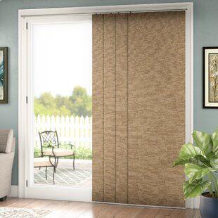 Coolaroo Outdoor Roller Shade Wayfair In 2020 Patio Door Coverings Sliding Door Blinds Sliding Glass Door Window