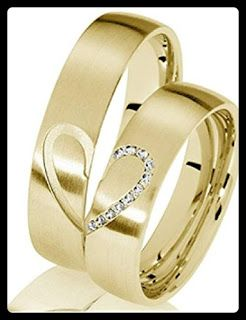 23 Wedding Rings From Amazon The Story Of Wedding Ring Wedding Ring Design Gold Couple Wedding Rings Couple Ring Design