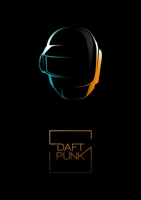 Another Daft Punk Fan poster. www.tuhomuho.com | Facebook | Twitter | Tumblr | Buy print! ———————— get your work featured by submitting it to designersof.com