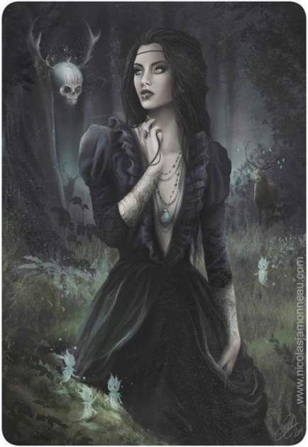 62+ Trendy Fantasy Art Witches Beautiful Darkness in 2020 Gothic fantasy art Dark gothic art Dark art illustrations