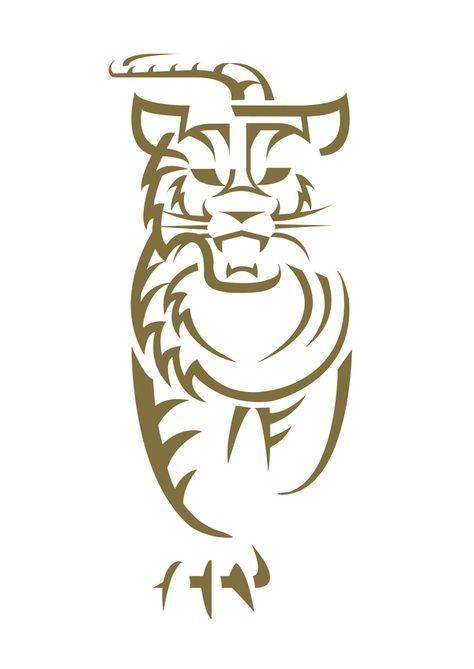 die 7 besten bilder zu logo  tigerkopf tiger zeichnung