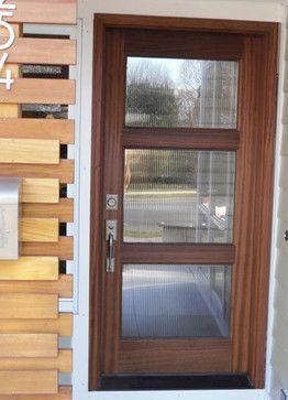 Astonishing 3 Glass Panel Front Door Pictures   Exterior Ideas 3D .