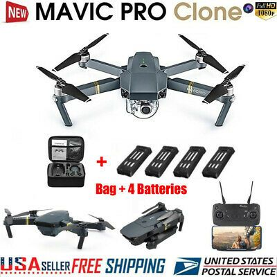 Dji Mavic Pro Clone Drone With Wifi Fpv 1080p Hd Camera Foldable Rc Quadcopter Ebay Mavic Pro Hd Camera Dji Mavic Pro
