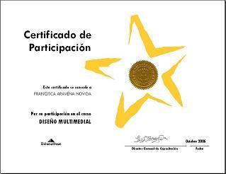 Diplomas De Cursos On Line Certificados De Participacion A Distancia Cursos Gratis De Computacion Cursillo Certificados De Participacion