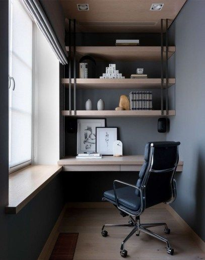 Stunning Small Home Office Furniture Design Ideas 13 In 2020 Small Home Office Furniture Home Office Furniture Design Home Office Setup