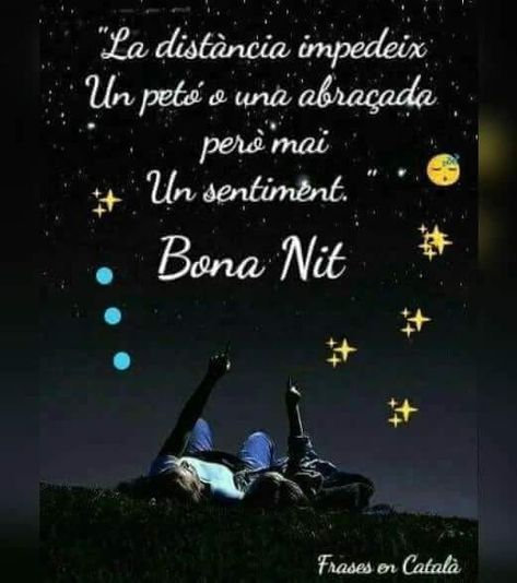 22 Ideas De Bona Nit Buenas Noches Buenas Noches En Catalan Bona