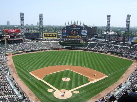 Chicago White Sox at US Cellular Field...capacity 40,615 | MLB ...