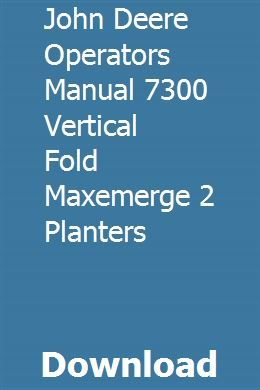 √ 7000 jd planter seeding chart.