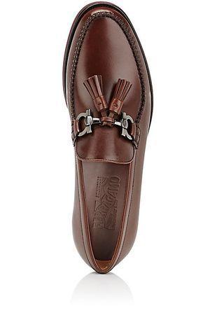 Salvatore Ferragamo Felipe Leather Loafers Loafers