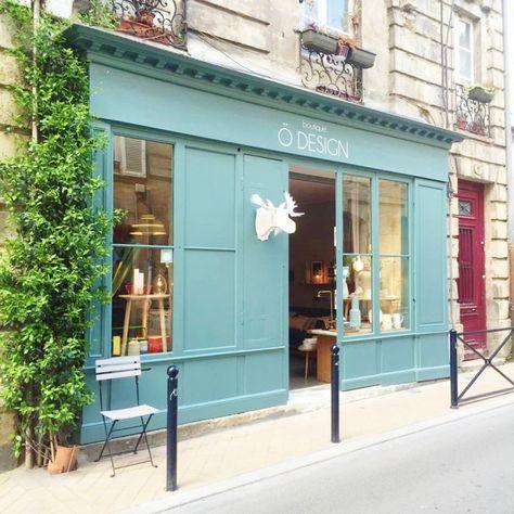 Aujourd'hui direction Bordeaux pour vous parler d'une petite boutique nichée en plein cœur du joli quartier des Chartrons : Ö Design !
