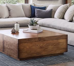 Parkview Reclaimed Wood Accent Cube Accent Coffeetable Cube