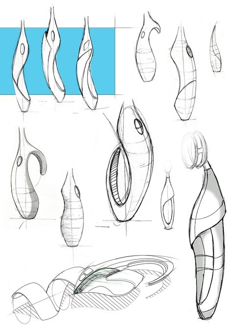 Freehand Sketches__Product Design_Industrial Design_Visit page https://www.behance.net/gallery/29567345/Freehand-Sketches