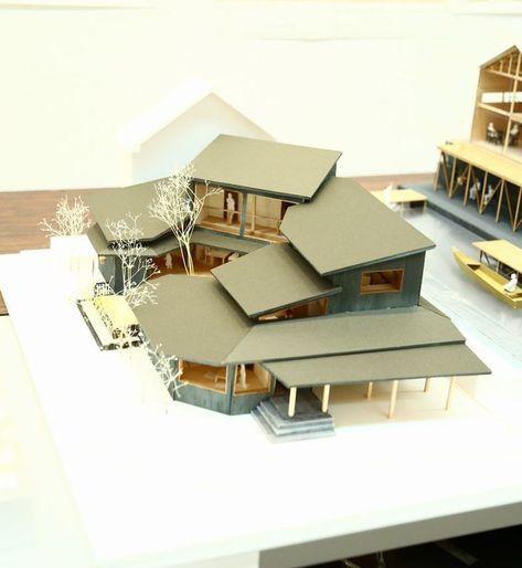 受賞作品 木の家設計グランプリ 住宅模型