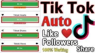Tik Tok Auto Liker App In 2020 Tik Tok Tok Tool Hacks