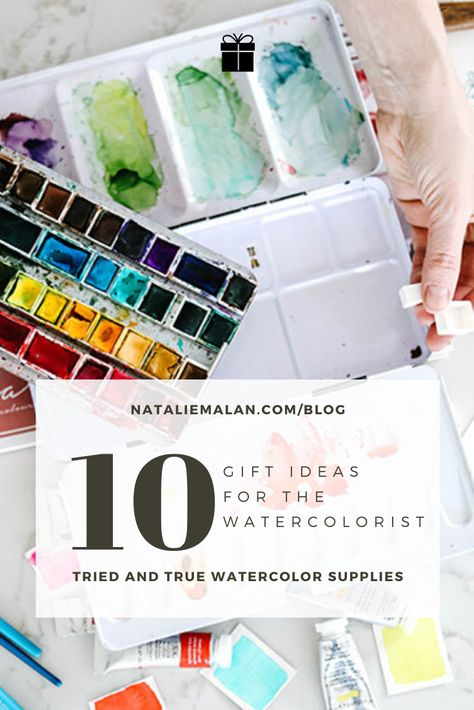 10 Best Watercolor Gift Ideas Watercolor Supplies Watercolour Gift
