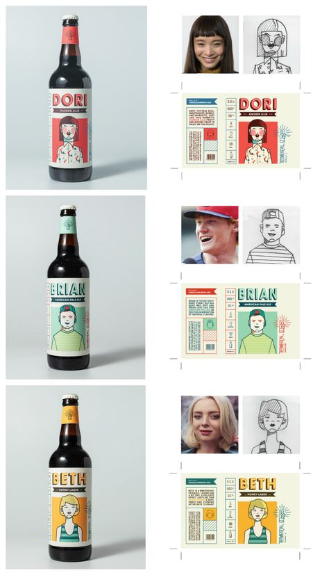 Student Concept for Playful, Versatile and Fictional Character Brand and Packaging System for Brewery Design Agency: Silvia Abruzzese Brand / Project Name: Temescal Brewery Location: United States America Category: World Brand & Packaging Design Society