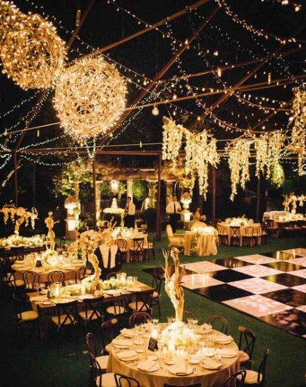Best Cheap Outdoor Lighting Ideas Patio Receptions 17 Ideas Outdoor Wedding Reception Decorations Backyard Wedding Lighting Outdoor Wedding Lighting