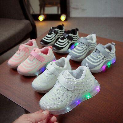 Baby Kid Children LED Boys Girls Light