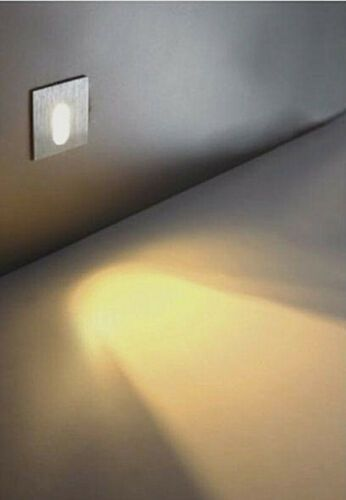 2pcs Led Recessed Step Stair Wall Light Indoor Walkway Sconces Corner Lamp Warm Ebay Stair Wall Lights Wall Lights Indoor Lamp