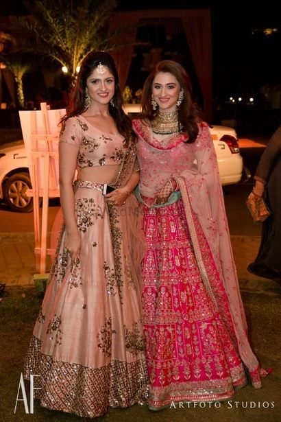 Sister Of The Bride Pretty Floral Pastel Lehenga For Wedding See More On Wedmegood Com Wedmegoo Indian Bridal Outfits Indian Designer Outfits Indian Lehenga