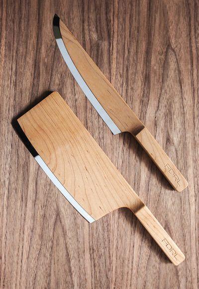 wooden knifes