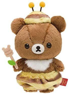Chairoikoguma Plush Doll Honey Forest Harvest Festival San-X Japan Rilakkuma Rilakkuma Plushie, Plushies, Softies, Kawaii Plush, Cute Plush, Little Duck, Cute Stuffed Animals, Plush Dolls, Hello Kitty