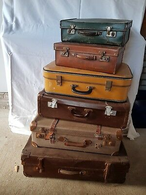 Vintage suitcase set Zeppy.io | Suitcase set, Suitcase