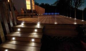 Groupon Two Four Six Eight Or Ten Globrite Solar Deck Lights