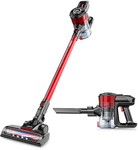 New Cordless Vacuum Onson Stick Vacuum Cleaner 150w Powerful Cleaning Lightweight 2 1 Handheld Vacuum Rechargeable Lithium Ion Battery Online In 2020 Cordless Stick Vacuum Cleaner Cordless Vacuum Handheld Vacuum
