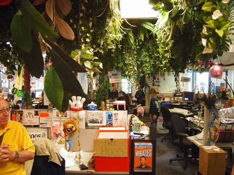 Zappos working space.