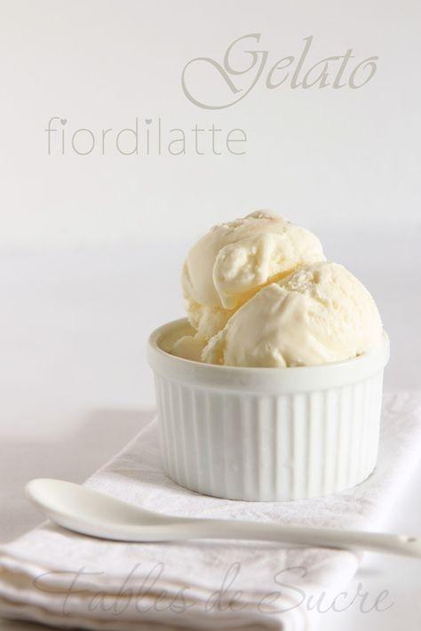 Un buon gelato fiordilatte come in gelateria ma fatto in casa, con ingredienti sani e naturali e senza rinunciare al gusto unico del miglior latte fresco