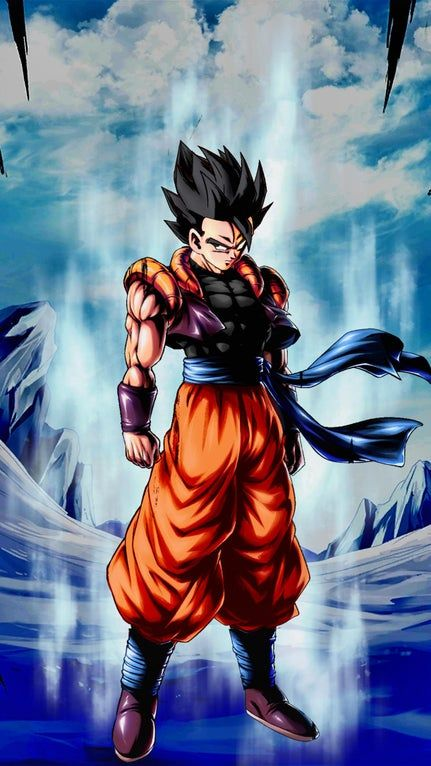 My Take On A Father Son Fusion Goku And Gohan Dragonballlegends In 2021 Anime Dragon Ball Super Dragon Ball Super Goku Dragon Ball Super Manga