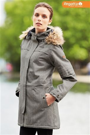 Buy Regatta Grey Chances Parka from the Next UK online shop £100 ...