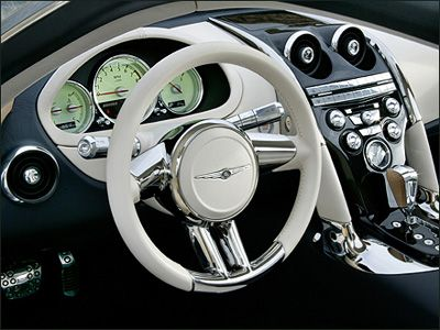 Chrysler Firepower Interior With Images Chrysler Crossfire