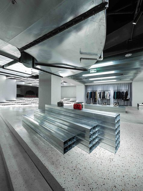 Flexible Retail Space For E-Tailer in Shanghai - China - The Cool Hunter