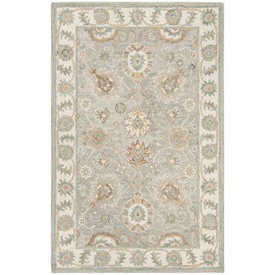 Charlton Home Mancuso Hand Tufted Wool Ivory Area Rug In 2020 Area Rugs Rug Size Rugs