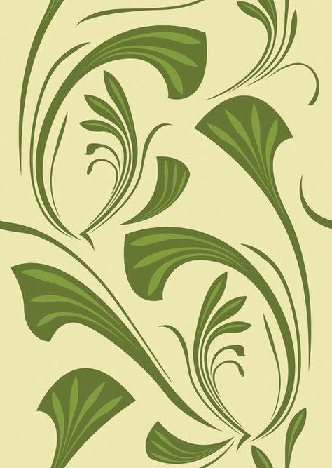 art nouveau blättermuster nr 14470 artnr 2278