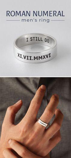 Men Ring Engagement Rings For Men Mens Wedding Ring Men Fashion