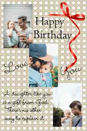 Free Birthday Card Maker Online Make Best Birthday Cards For Daughter Ekikayi In 2021 Cool Birthday Cards Birthday Card Maker Personalized Birthday Cards
